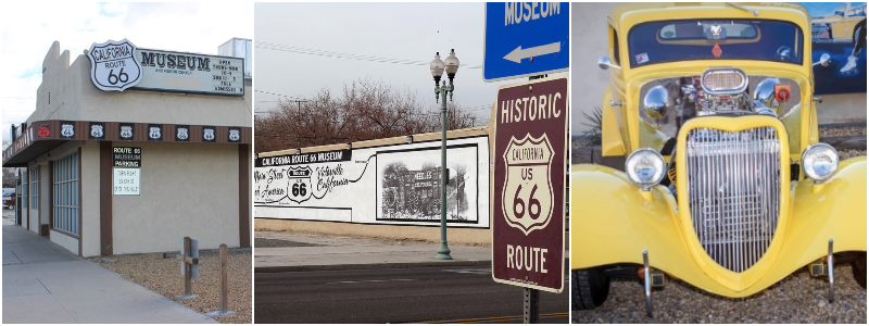 This image has an empty alt attribute; its file name is California-Route-66-Museum1.jpg